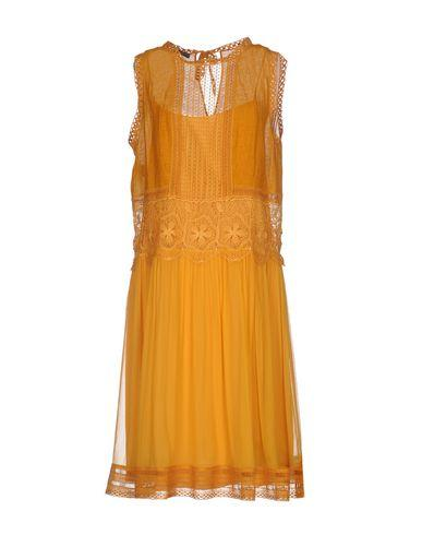Alberta Ferretti Knee-length Dress In Ocher