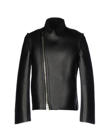 Emporio Armani Biker Jacket In Black