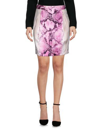 Just Cavalli Knee Length Skirt In Fuchsia