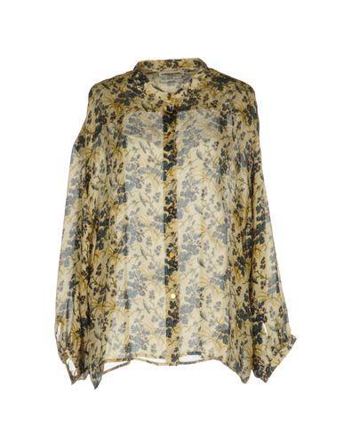 Essentiel Antwerp Floral Shirts & Blouses In Beige