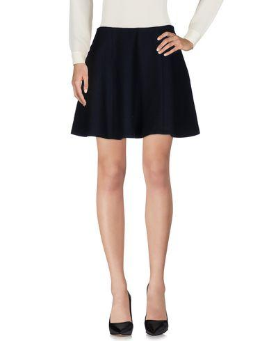 Theory Knee Length Skirt In Dark Blue