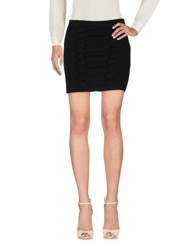 Cedric Charlier Mini Skirt In Black