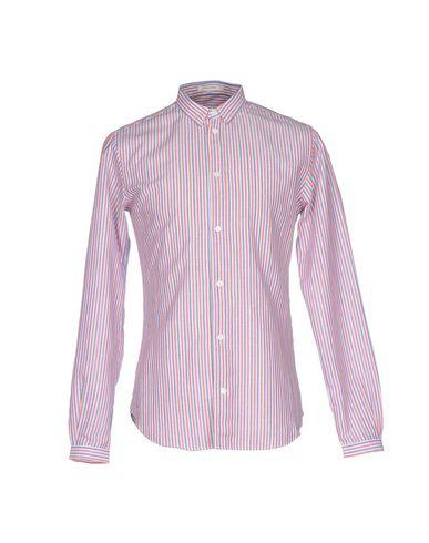 Carven Striped Shirt In Red