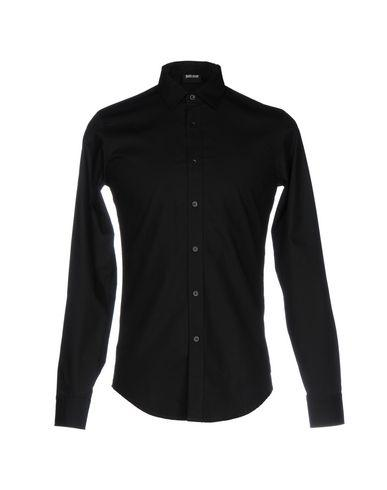 Just Cavalli Solid Color Shirt In Black