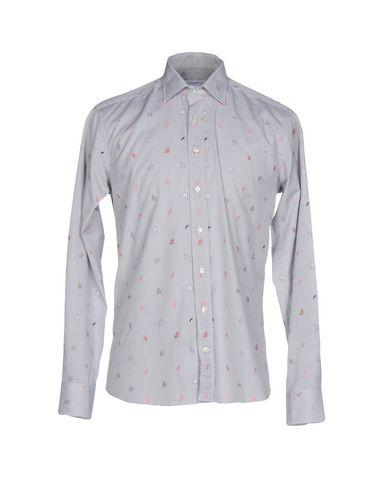 Etro Checked Shirt In Grey