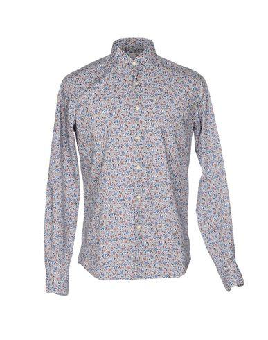 Xacus Patterned Shirt In Blue
