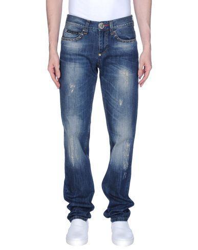 Philipp Plein Denim Pants In Blue