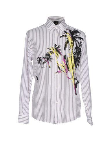 Just Cavalli Striped Shirt In White