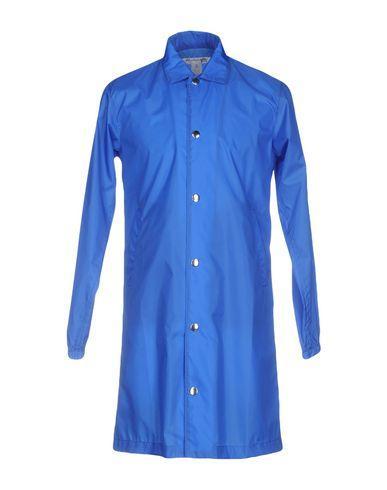Comme Des GarÇons Shirt Full-length Jacket In Blue