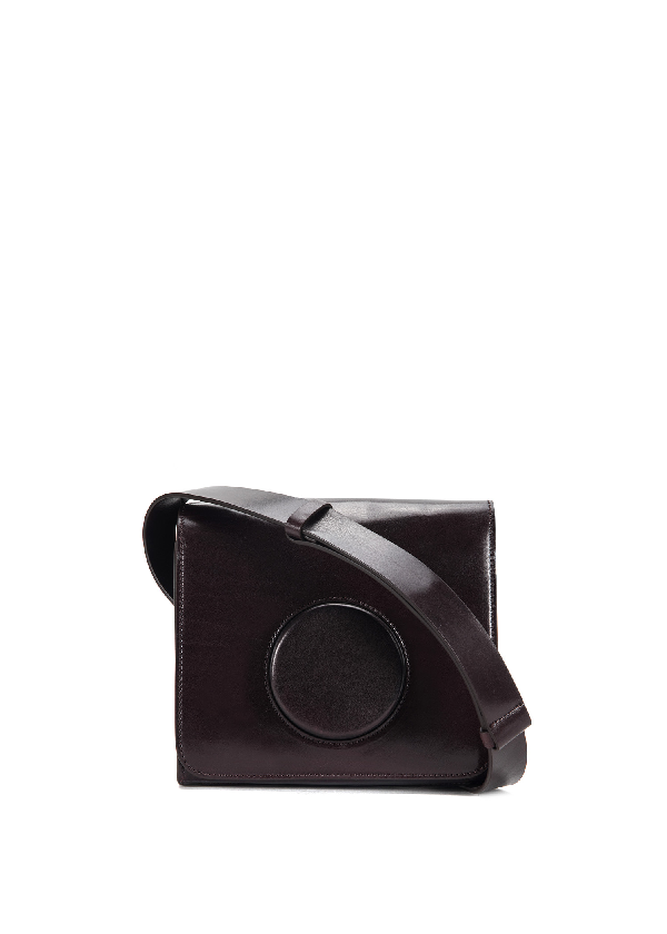 Lemaire Camera Bag In Grappe