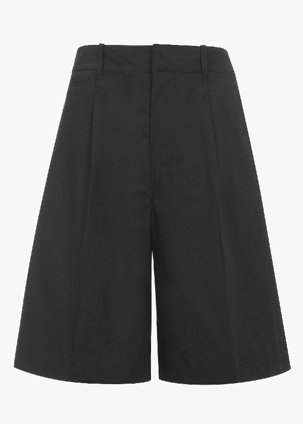 Lemaire Long Shorts In Black