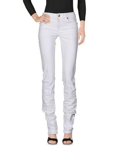 Just Cavalli Denim Pants In White
