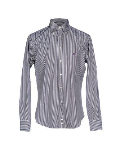 Etro Shirts In Dark Brown