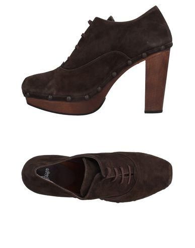 CastaÑer Laced Shoes In Dark Brown