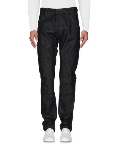 Rick Owens Drkshdw Denim Pants In Black