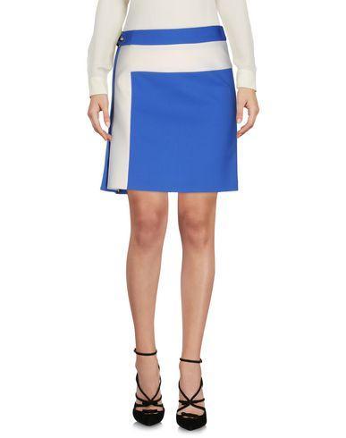 Salvatore Ferragamo Knee Length Skirts In Azure