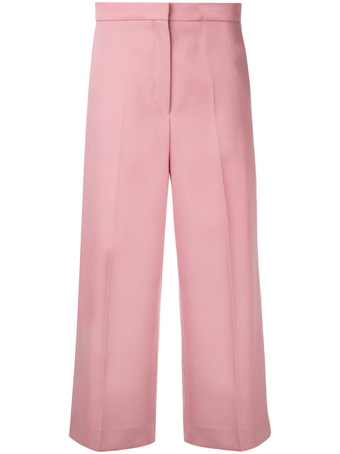 Rochas Cropped Pants - Pink