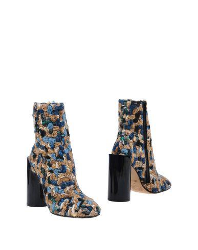 Maison Margiela Ankle Boots In Khaki