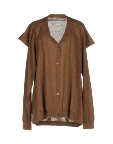 Maison Margiela Cardigan In Camel
