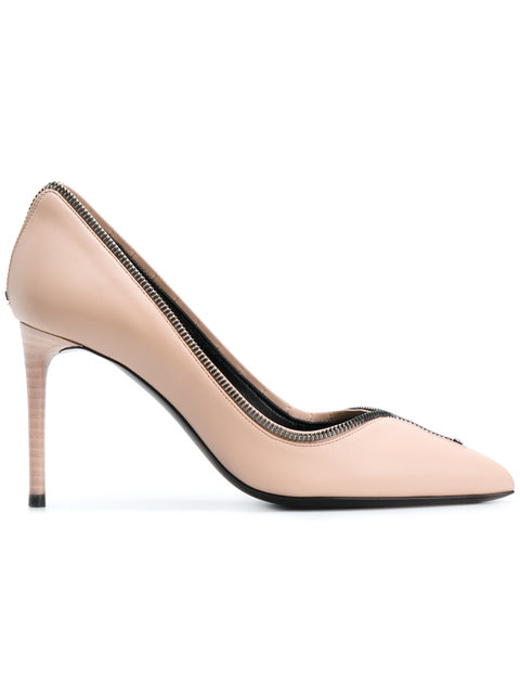 Tom Ford Zip Pumps In Pink