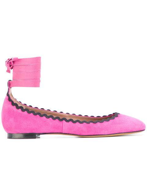 Tabitha Simmons Daria Ballerinas - Pink