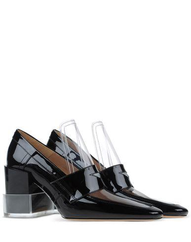 Maison Margiela Loafers In Black