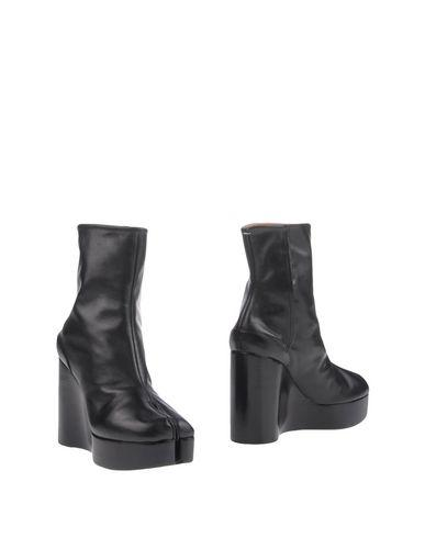 Maison Margiela Ankle Boots In Black