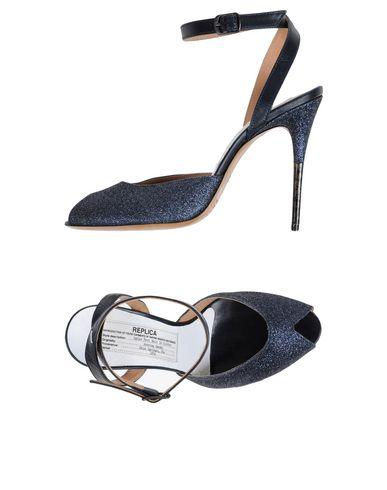 Maison Margiela Sandals In Dark Blue