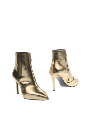 Balenciaga Ankle Boot In Gold