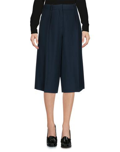 Maison Margiela Cropped Pants & Culottes In Deep Jade