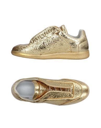 Maison Margiela Sneakers In Gold