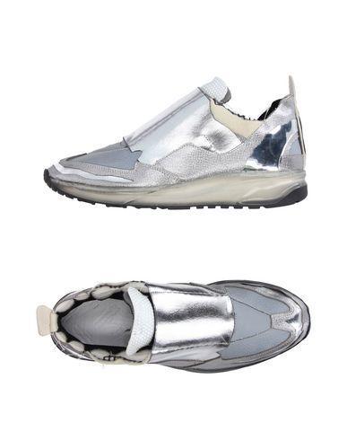 Maison Margiela Sneakers In Silver
