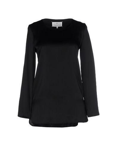 Maison Margiela Solid Color Shirts & Blouses In Black