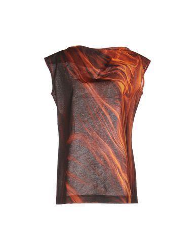 Maison Margiela T-shirts In Orange