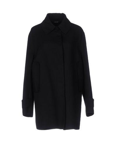 Maison Margiela Coat In Black