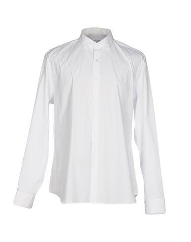 Xacus Solid Color Shirt In White