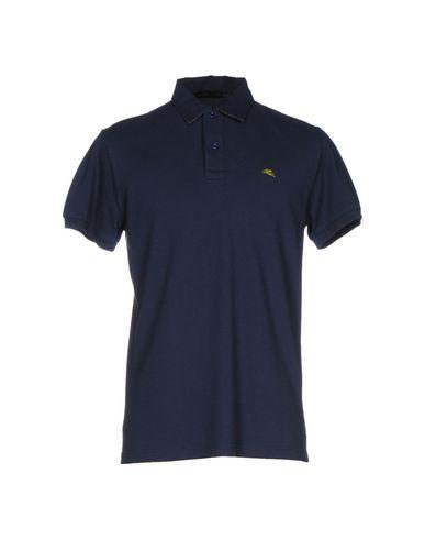 Etro Polo Shirts In Dark Blue