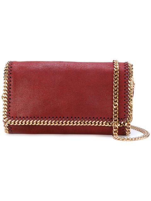 Stella Mccartney Falabella Crossbody Bag In Red