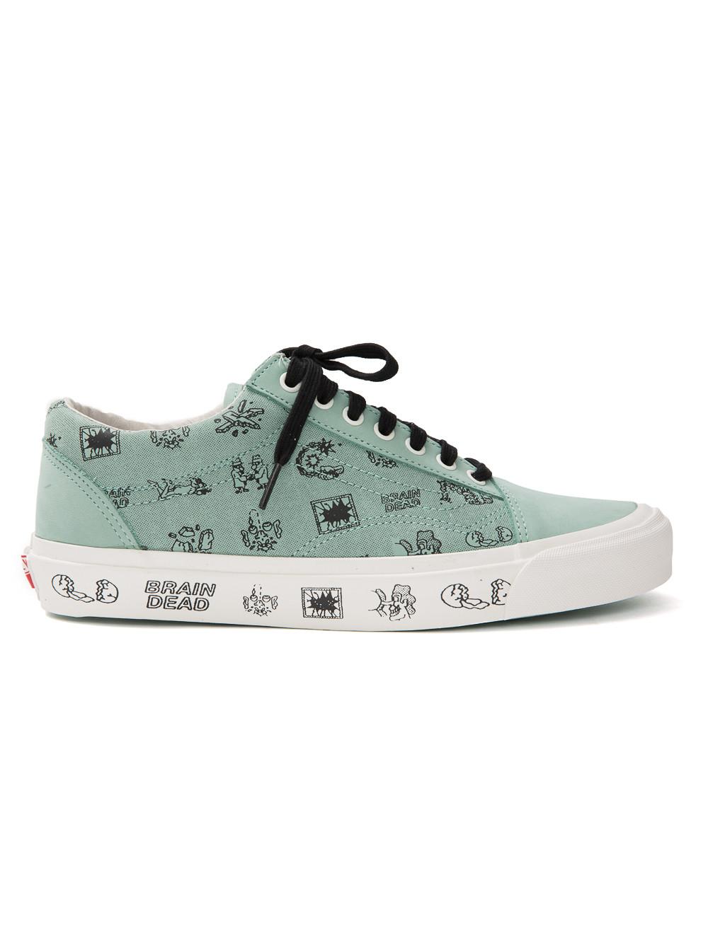 Vans X Brain Dead Old Skool Sneakers