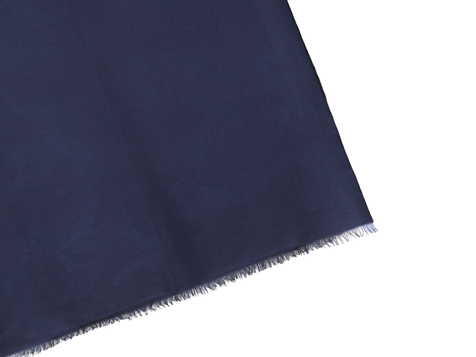 Salvatore Ferragamo Double-sided Floral And Monocolor Stole In Black Blue
