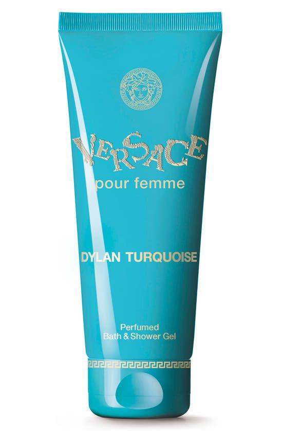 Versace Dylan Turquoise Perfumed Bath & Shower Gel, 6.7-oz.