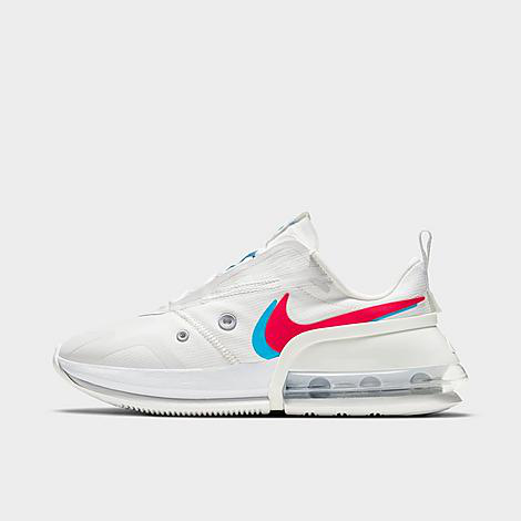 Nike Air Max Up Sneakers In White In Summit White/siren Red/chlorine Blue
