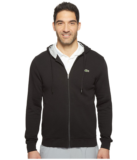 3696b630bdf1c Lacoste Sport Full Zip Hoodie Fleece Sweatshirt