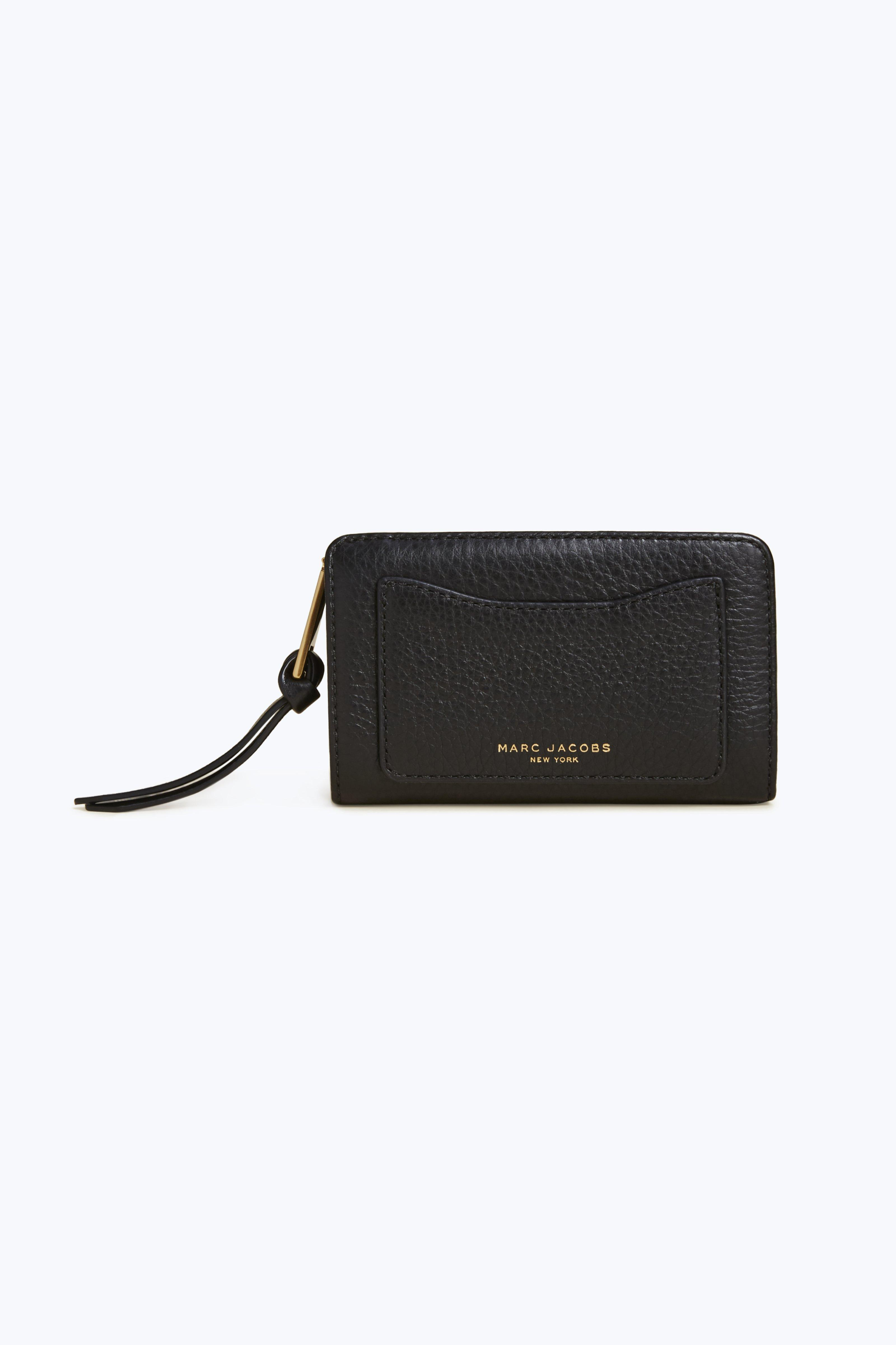 Marc Jacobs Recruit Compact Wallet In Black
