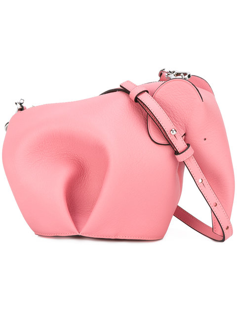 7331edc6e Loewe Elephant Leather Crossbody Bag - Candy In Pink | ModeSens