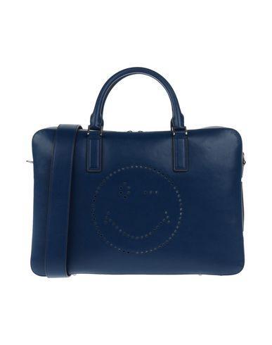 Anya Hindmarch Handbags In Dark Blue