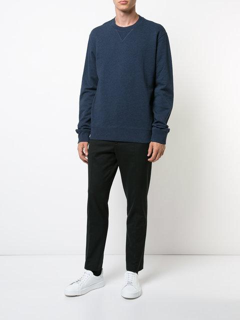 Maison Margiela Crew Neck Sweater - Blue