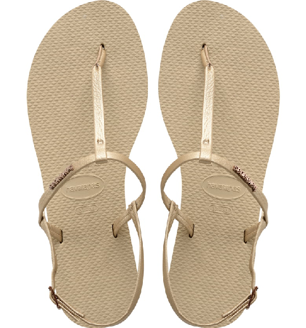 Havaianas You Riviera Sandal In Sand Grey