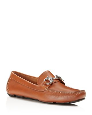 Salvatore Ferragamo Parigi 1 Gancini Leather Loafer, Brown