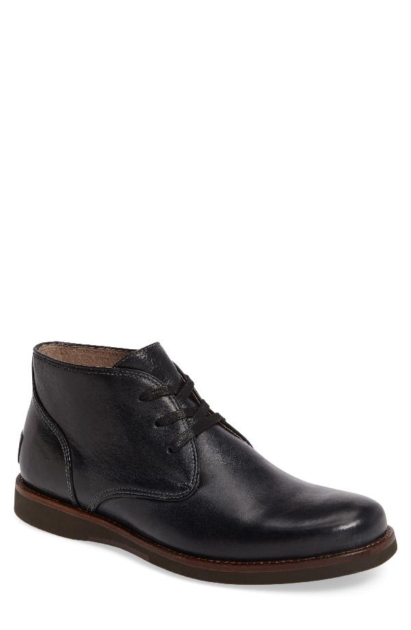 John Varvatos Men's Star Usa Brooklyn Leather Chukka Boots In Black